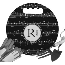 Musical Notes Gardening Knee Cushion (Personalized)