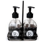 Musical Notes Soap & Lotion Dispenser Set (Glass) (Personalized)