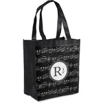 Musical Notes Grocery Bag (Personalized)
