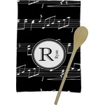 Musical Notes Kitchen Towel - Full Print (Personalized)