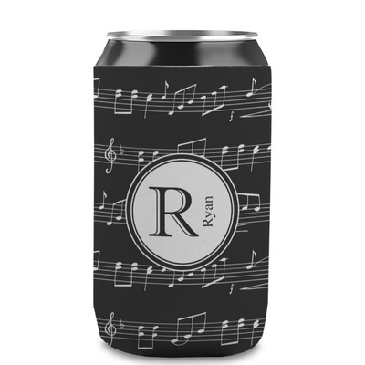 Musical Notes Can Sleeve (12 oz) (Personalized)