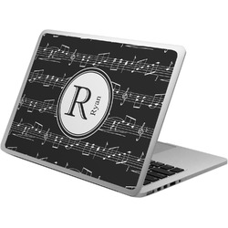 Musical Notes Laptop Skin - Custom Sized (Personalized)