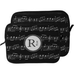 Musical Notes Laptop Sleeve / Case (Personalized)
