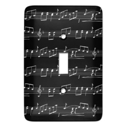 Musical Notes Light Switch Covers - Multiple Toggle Options Available (Personalized)