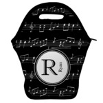 Musical Notes Lunch Bag w/ Name and Initial