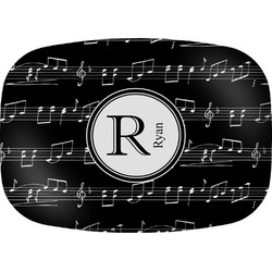 Musical Notes Melamine Platter (Personalized)