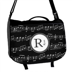 Musical Notes Messenger Bag (Personalized)