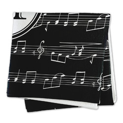 Musical Notes Microfiber Dish Rag (Personalized)