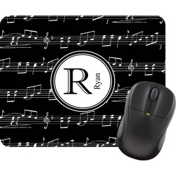 Musical Notes Mouse Pad (Personalized)