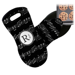 Musical Notes Neoprene Oven Mitt (Personalized)
