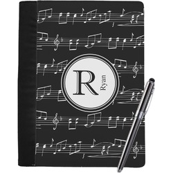 Musical Notes Notebook Padfolio (Personalized)