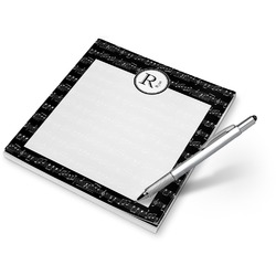 Musical Notes Notepad (Personalized)