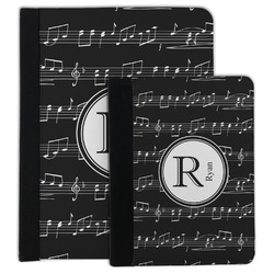 Musical Notes Padfolio Clipboard (Personalized)