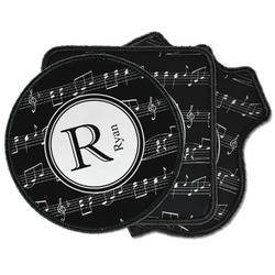 Musical Notes Iron on Patches (Personalized)