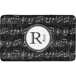 Musical Notes Bath Mat (Personalized)
