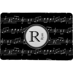 "Musical Notes Comfort Mat - 24""x36"" (Personalized)"