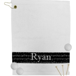 Musical Notes Golf Towel (Personalized)