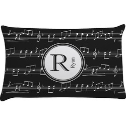 Musical Notes Pillow Case (Personalized)