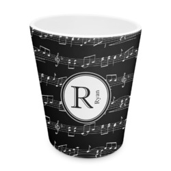 Musical Notes Plastic Tumbler 6oz (Personalized)