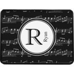 Musical Notes Rectangular Trailer Hitch Cover (Personalized)
