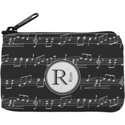 Musical Notes Rectangular Coin Purse (Personalized)