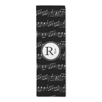 Musical Notes Runner Rug - 3.66'x8' (Personalized)