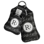 Musical Notes Hand Sanitizer & Keychain Holder (Personalized)