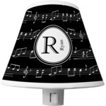 Musical Notes Shade Night Light (Personalized)
