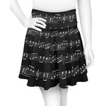 Musical Notes Skater Skirt (Personalized)