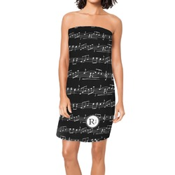 Musical Notes Spa / Bath Wrap (Personalized)