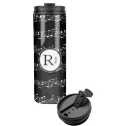 Musical Notes Stainless Steel Skinny Tumbler (Personalized)