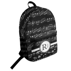 Musical Notes Student Backpack (Personalized)