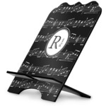 Musical Notes Stylized Tablet Stand (Personalized)