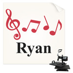 Musical Notes Sublimation Transfer (Personalized)