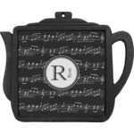 Musical Notes Teapot Trivet (Personalized)