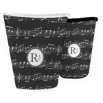 Musical Notes Waste Basket (Personalized)