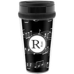 Musical Notes Travel Mug (Personalized)