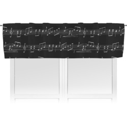 Musical Notes Valance (Personalized)