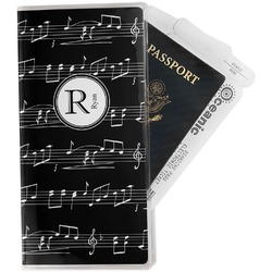 Musical Notes Travel Document Holder