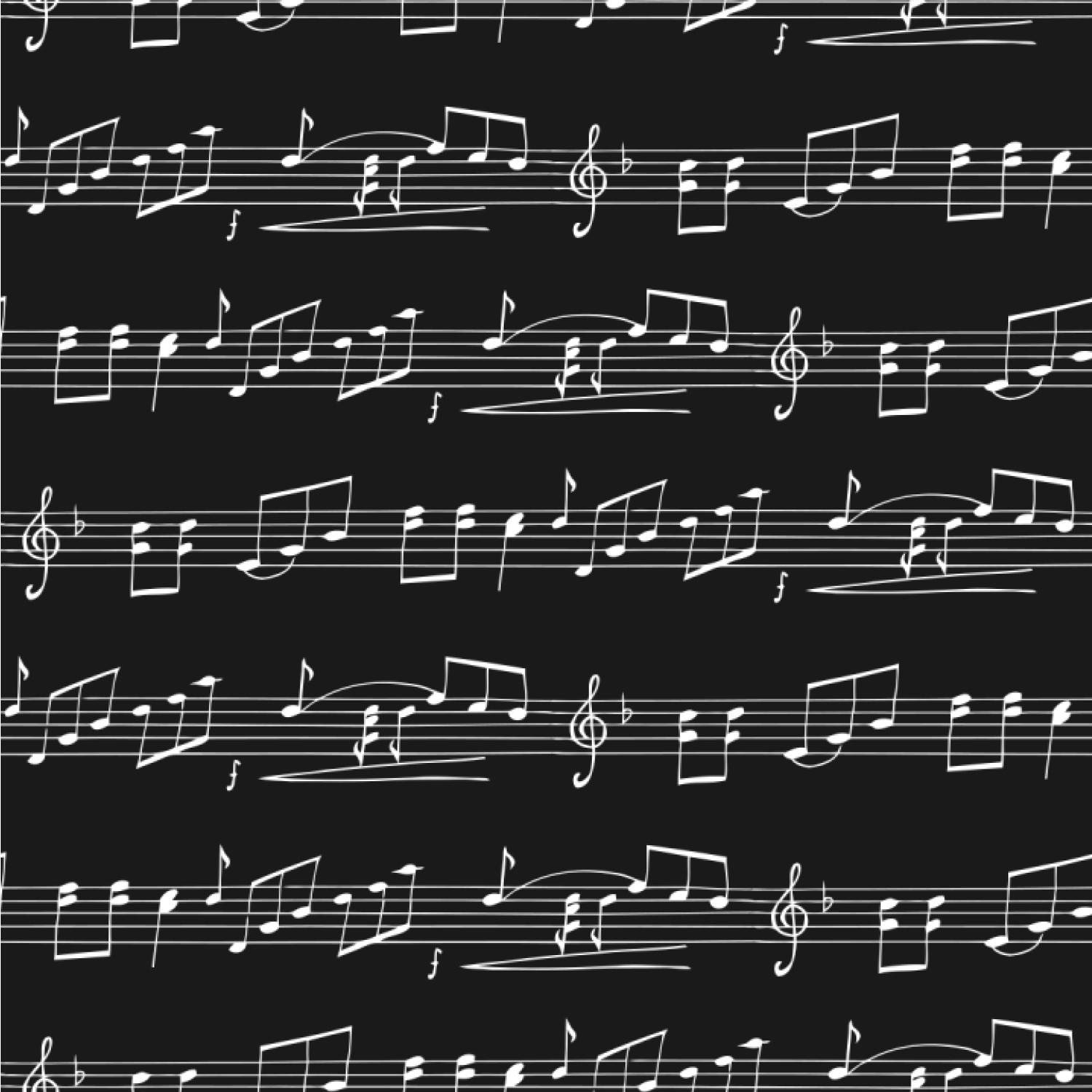 Musical Notes Wallpaper Surface Covering Youcustomizeit