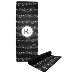 Musical Notes Yoga Mat (Personalized)