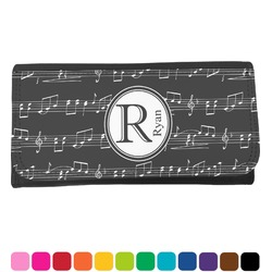 Musical Notes Ladies Wallet (Personalized)