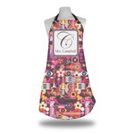 Abstract Music Apron (Personalized)