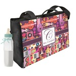 Abstract Music Diaper Bag w/ Name and Initial