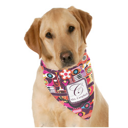 Abstract Music Pet Bandanas (Personalized)