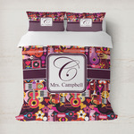 Abstract Music Duvet Covers (Personalized)