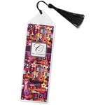 Abstract Music Book Mark w/Tassel (Personalized)