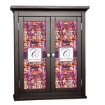 Abstract Music Cabinet Decal - Custom Size (Personalized)