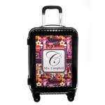 Abstract Music Carry On Hard Shell Suitcase (Personalized)