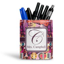 Abstract Music Ceramic Pen Holder